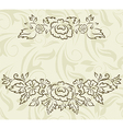 vintage design for greeting card vector image vector image