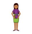 woman teachers day vector image vector image