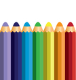 colorful pencil vector image vector image