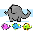 Elephant vector image vector image