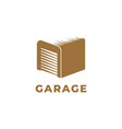 garage logo design symbol template vector image