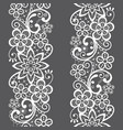 lace seamless pattern repetitive design vector image