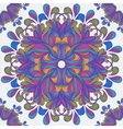 Seamless ornament pattern with circles vector image vector image