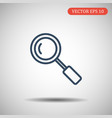search icon in trendy thick line style isolated on vector image