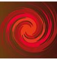 spiral shape vector image