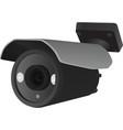surveillance camera vector image vector image