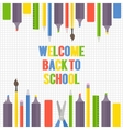 with office or school vector image vector image