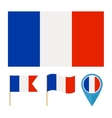 France country flag vector image