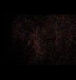 colorful explosion of confetti colored grainy vector image vector image