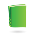 green book vector image vector image