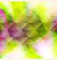 green polygonal hexagonal elements vector image vector image