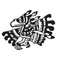 maya ornament vector image