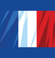 national flag france vector image vector image