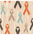 Ribbon seamless background vector image vector image