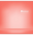 background red empty room mock up vector image vector image