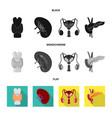 design of biology and scientific symbol vector image vector image