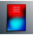 gradient texture poster design for wallpaper vector image vector image