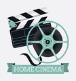Home Cinema Banner vector image vector image