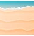 Sand and sea vector image