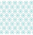 background snowflakes winter decoration pattern vector image