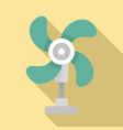 fresh air fan icon flat style vector image vector image