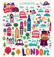 London symbols vector image vector image
