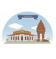 PhnomPenh vector image vector image
