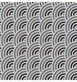 seamless pattern of circles in squama style vector image vector image
