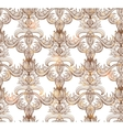 Seamless vintage pattern EPS vector image vector image