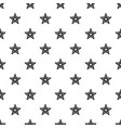 star snowflake icon simple style vector image vector image