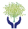 hope tree hand vector image