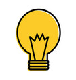 bulb energy power light icon vector image