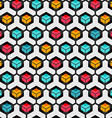 cell seamless pattern vector image
