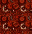 decorative ethnic pattern vector image vector image
