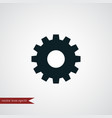 gear icon simple vector image