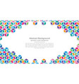 modern colorful geometry backgrounds vector image vector image