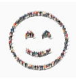 people emoticon smiley icon vector image