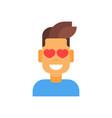 profile icon male emotion avatar man cartoon vector image vector image