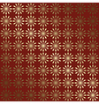 red and gold geometric background with gradient vector image vector image