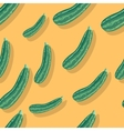 Zucchini Seamless Pattern vector image vector image