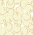 Frozen dumplings seamless patetrn ornament for vector image