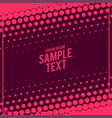 abstract big halftone pattern design vector image