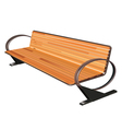 bench vector image