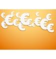Hung symbols Euro vector image vector image