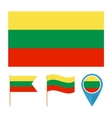 Lithuania country flag vector image