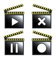 movie cinema vector image vector image