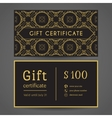 Vintage Gift Certificate