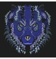 Wolf Blue vector image vector image