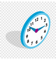 office clock isometric icon vector image