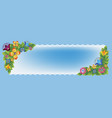 floral banners 3 vector image